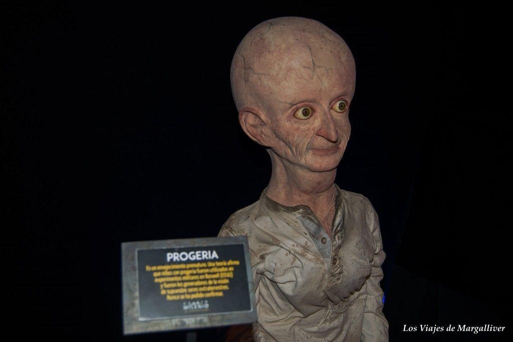 Exposición de Cuato Milenio, Progeria - Los viajes de Margalliver